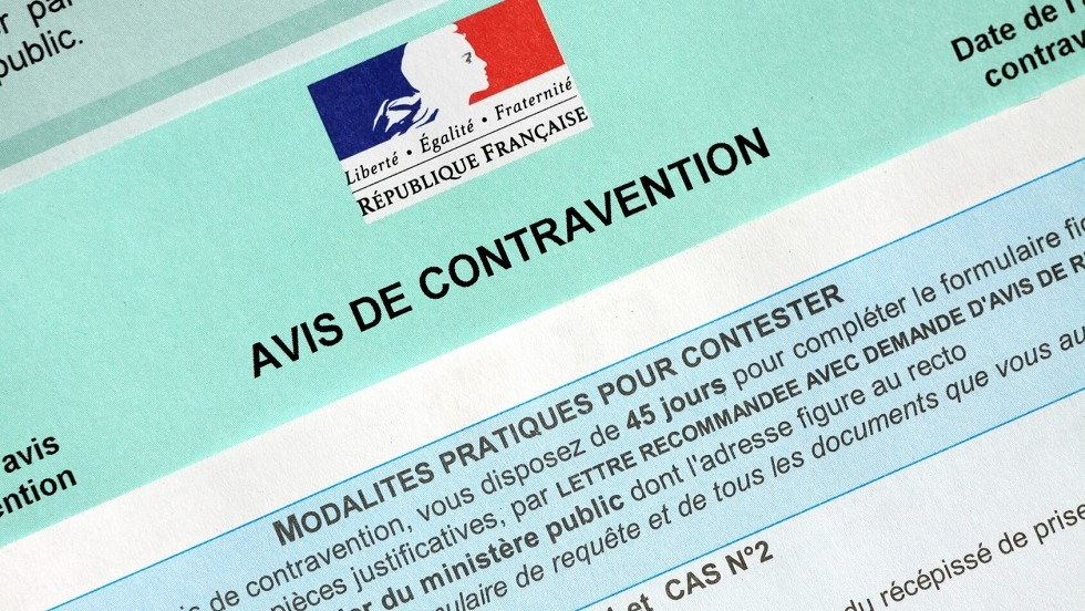 Modalites de contestation d'un avis de contravention