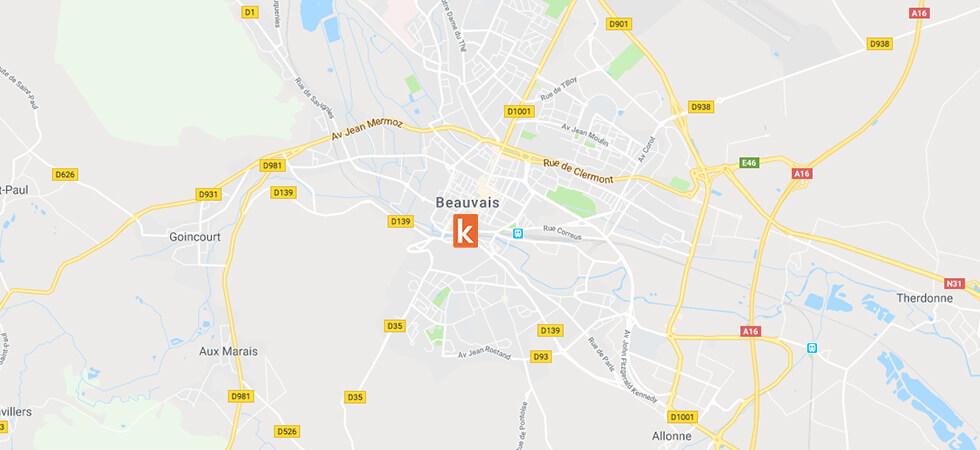 Point de rendez-vous Ornikar à Beauvais