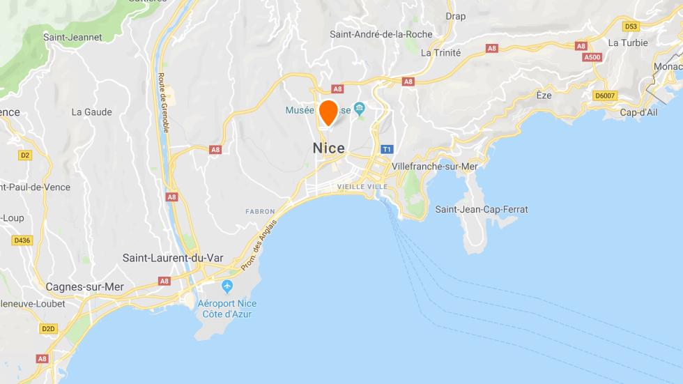 Les points de rendez-vous à conduite à Nice