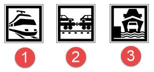 Schéma de panneaux d'indication n°9