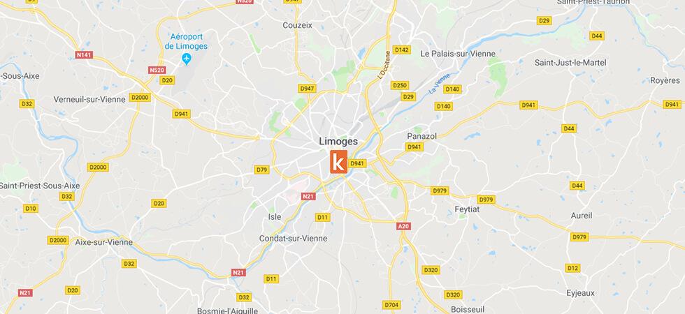 Point de rendez-vous Ornikar sur Limoges
