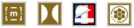 Idéogrammes de parcs et lieux touristiques 2