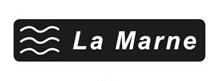 Panneau de cours d'eau indiquant la Marne