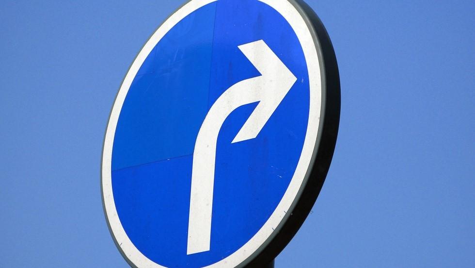 Les Differents Panneaux De Direction Obligatoire Ornikar