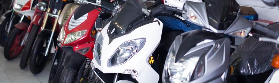 Différentes catégories de deux-roues motorisés