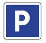 Idéogramme représentant un espace de parking