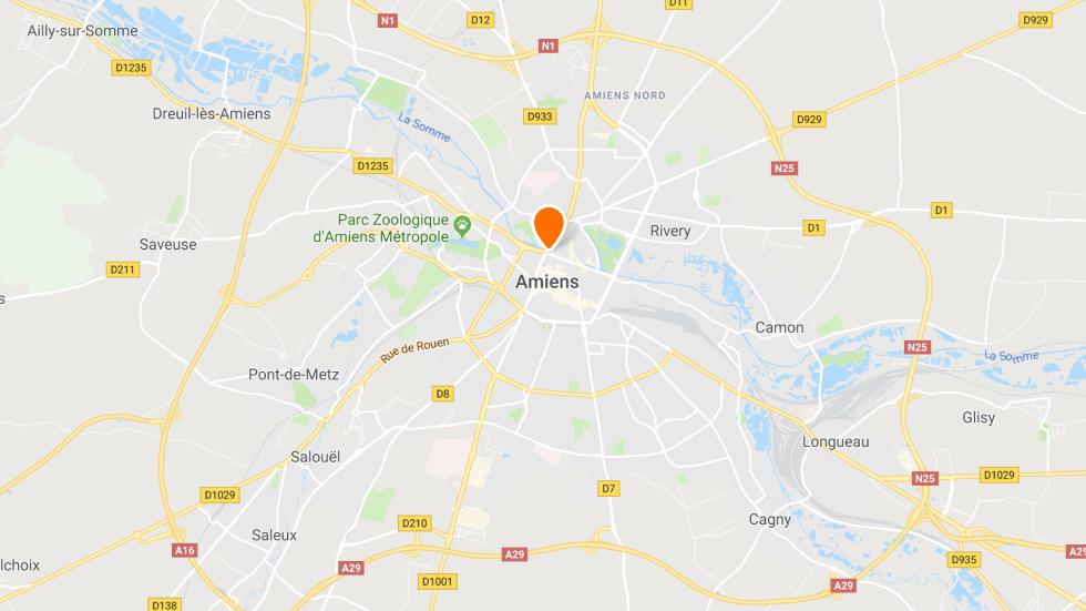 Les points de rendez-vous à conduite à Amiens