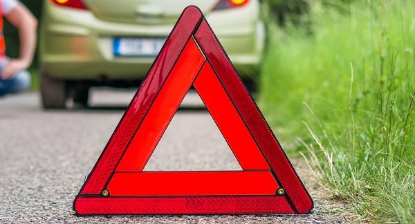 Un triangle de présignalisation