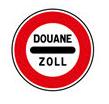 Panneau douane multilingue