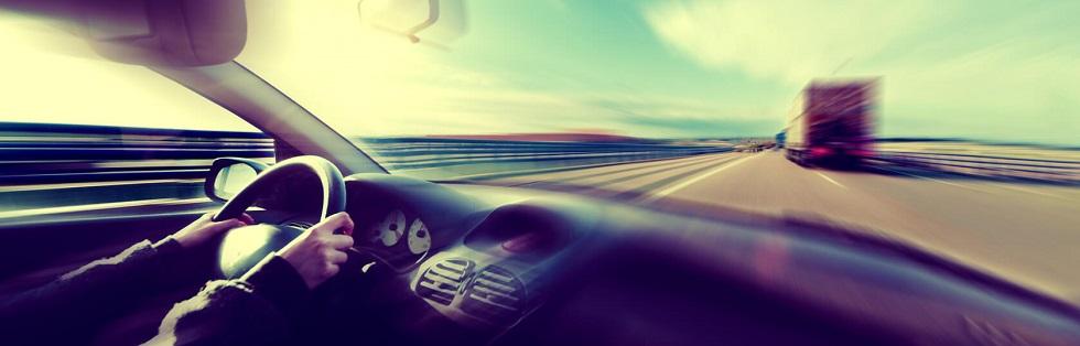 Les effets de la vitesse en voiture