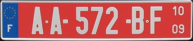 Immatriculation de transit temporaire Auteur : JFŻ