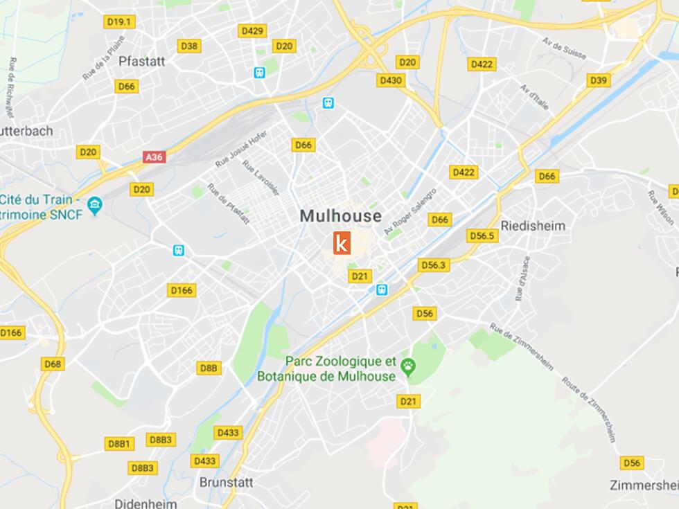 Les points de rendez-vous pour apprendre à conduire à Mulhouse