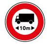 Interdiction de dépasser 10m de longueur