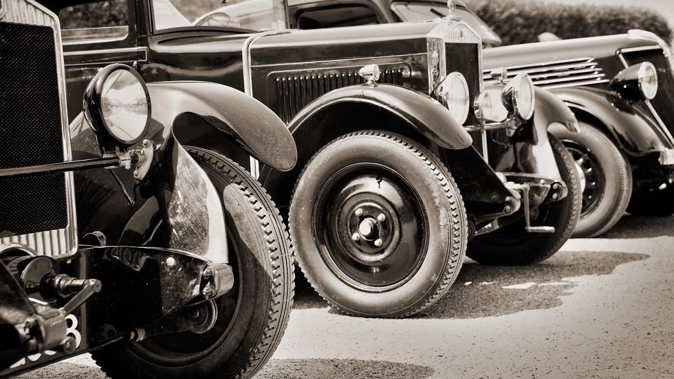 Jantes d'automobiles anciennes