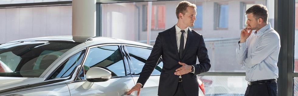 vente d'une voiture neuve