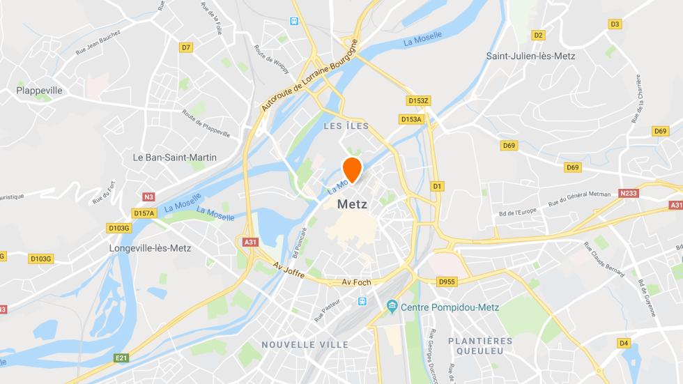 Le point de rendez-vous à conduite à Metz