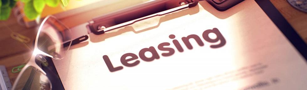 visuel d'un contrat de leasing automobile