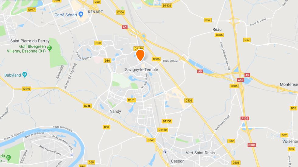 Points de rendez-vous de l'auto-école en ligne Ornikar à Savigny-le-Temple