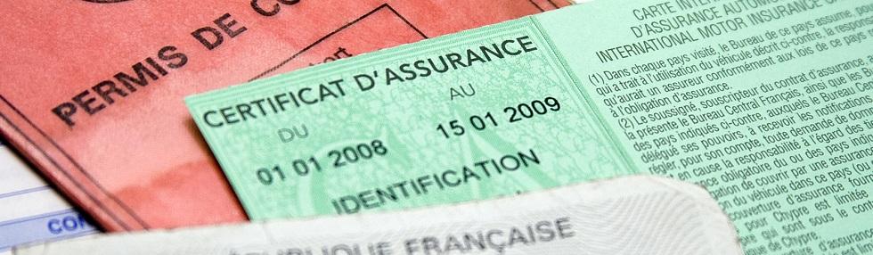 détail d'un certificat d'assurance