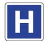 Idéogramme d'hôpital