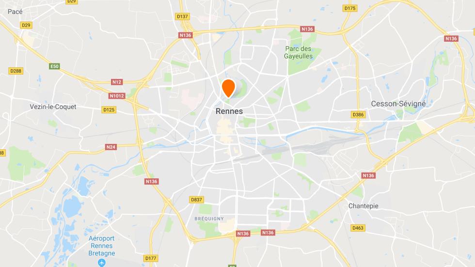 Le point de rendez-vous à conduite à Rennes