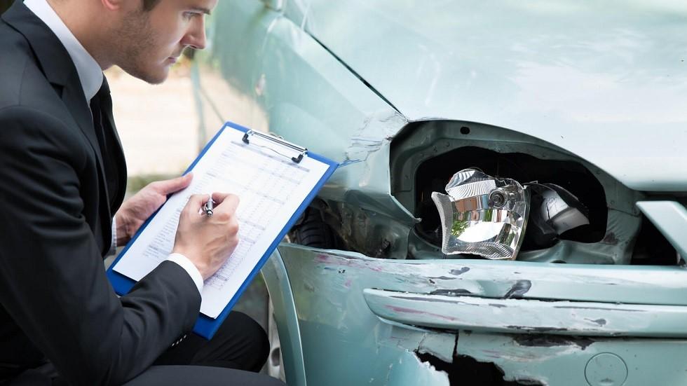 Expertise realisee pour une compagnie d'assurance suite a un accident